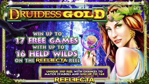 Play Druidess Gold Now